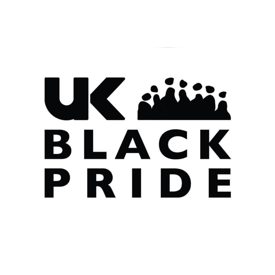 logo for UK Black Pride